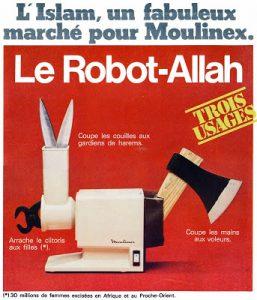 Fausse-publicité parue dans le journal Charlie-Hebdo dans les années 1980